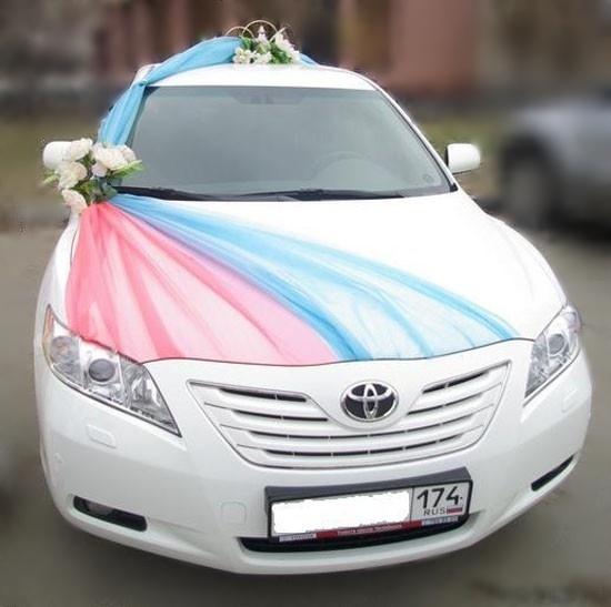 Украсит машину на свадьбу своими руками
